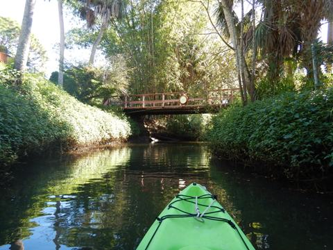 paddling Estero River, Great Calusa Blueway, kayak, canoe