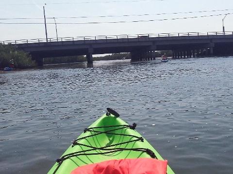 Paddling Callalisa Creek New Smyrna Beach Kayak Canoe