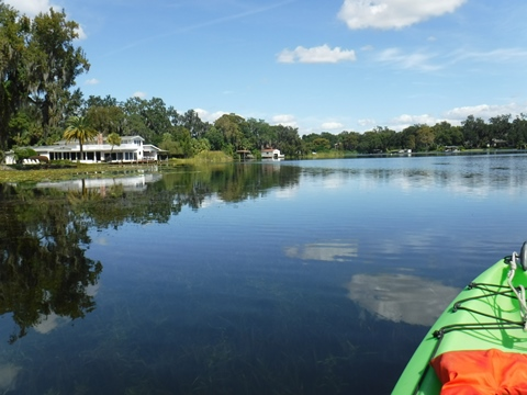 Winter Park Chain of Lakes - Central Florida Paddling near Orlando