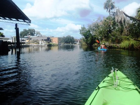 Paddling Homosassa River, kayak, canoe