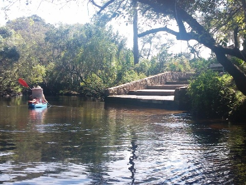 paddling Little Manatee River