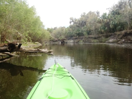 Peace River Paddling Trail, middle section